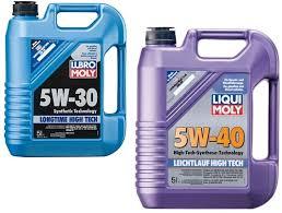 Моторное масло 5w30 и 5w40: в чем разница?