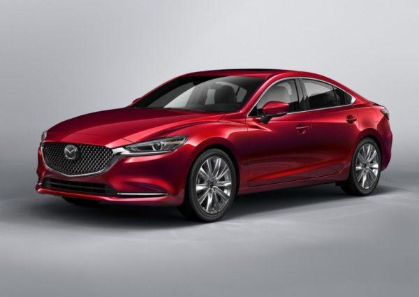 Рестайлинг Mazda 6 2018