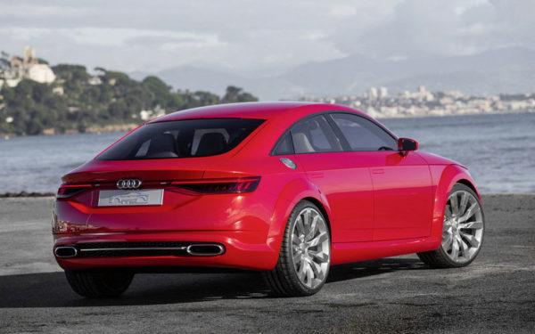 Встречаем четырехдверную Audi TT