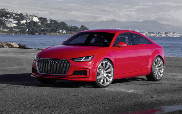 Готовимся встречать четырехдверную Audi TT