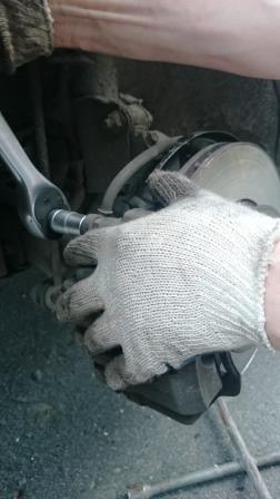 Замена колодок своими руками киа рио 68