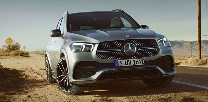 Mercedes-Benz GLE 300 внедорожник: восхищение