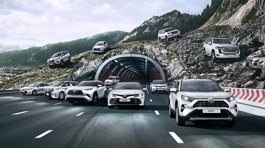 Модельный ряд Toyota