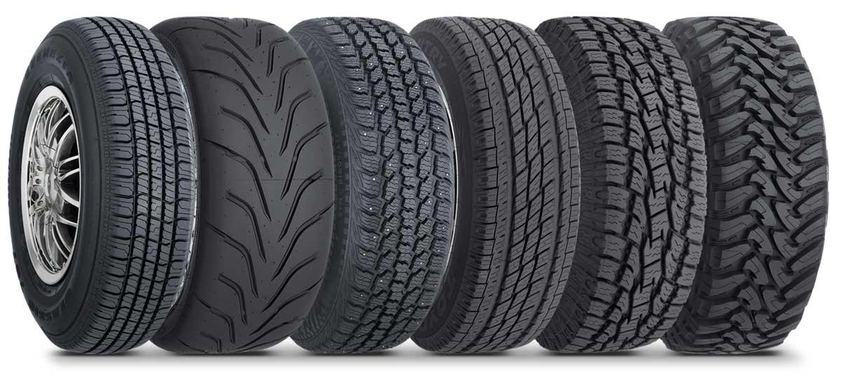 Детальное описание и разновидности автомобильных шин