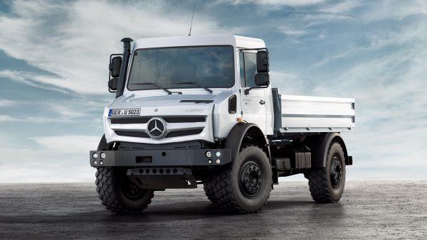 Mercedes-Benz Unimog: высокотехнологичный грузовик